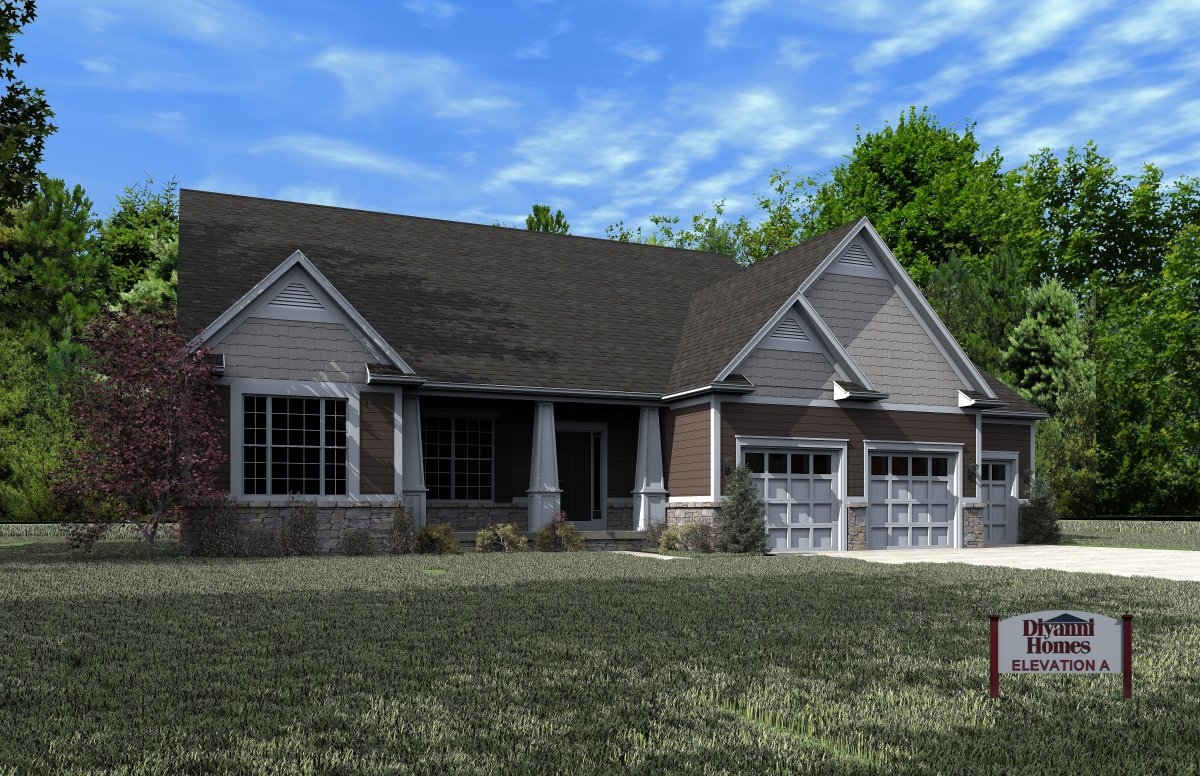 Bromley model home
